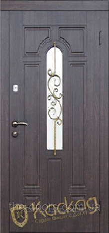 Входная дверь Каскад серия Элит модель Лира