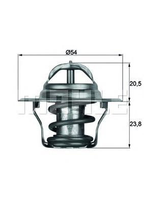 Термостат Audi A4/A6 VW Golf 4/B-5/Sharan 1.6E/1.8T/2.0E 87C с прокл 050121113C