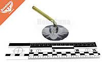 Вентиль для грузовых камер обрезиненный гнутый 45-град. (Украина) (сосок)   ГК-95