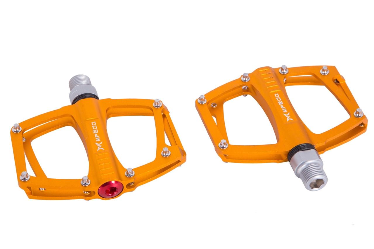 Педаль MTB Al пром. Подшипн. Сменные шипы Mpeda ALNC-648 (Gold)