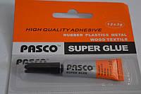 Клей супер Pasco 3гр.С-041 (цена за 12шт)