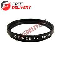 Ультрафиолетовый UV фильтр 43мм CITIWIDE