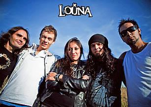 Плакат Louna 09