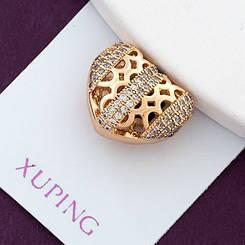 Кулон Xuping Jewelry Сердце, медицинское золото, позолота 18К. А/В 2853