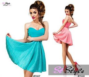 Летнее платье 414
