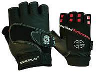 Рукавички для фітнесу PowerPlay 1552 Чорні M