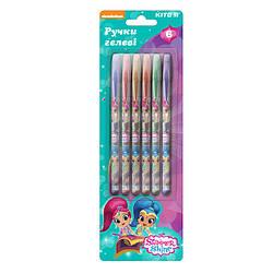 Набір гелевих ручок з гліттером, 6шт. SH