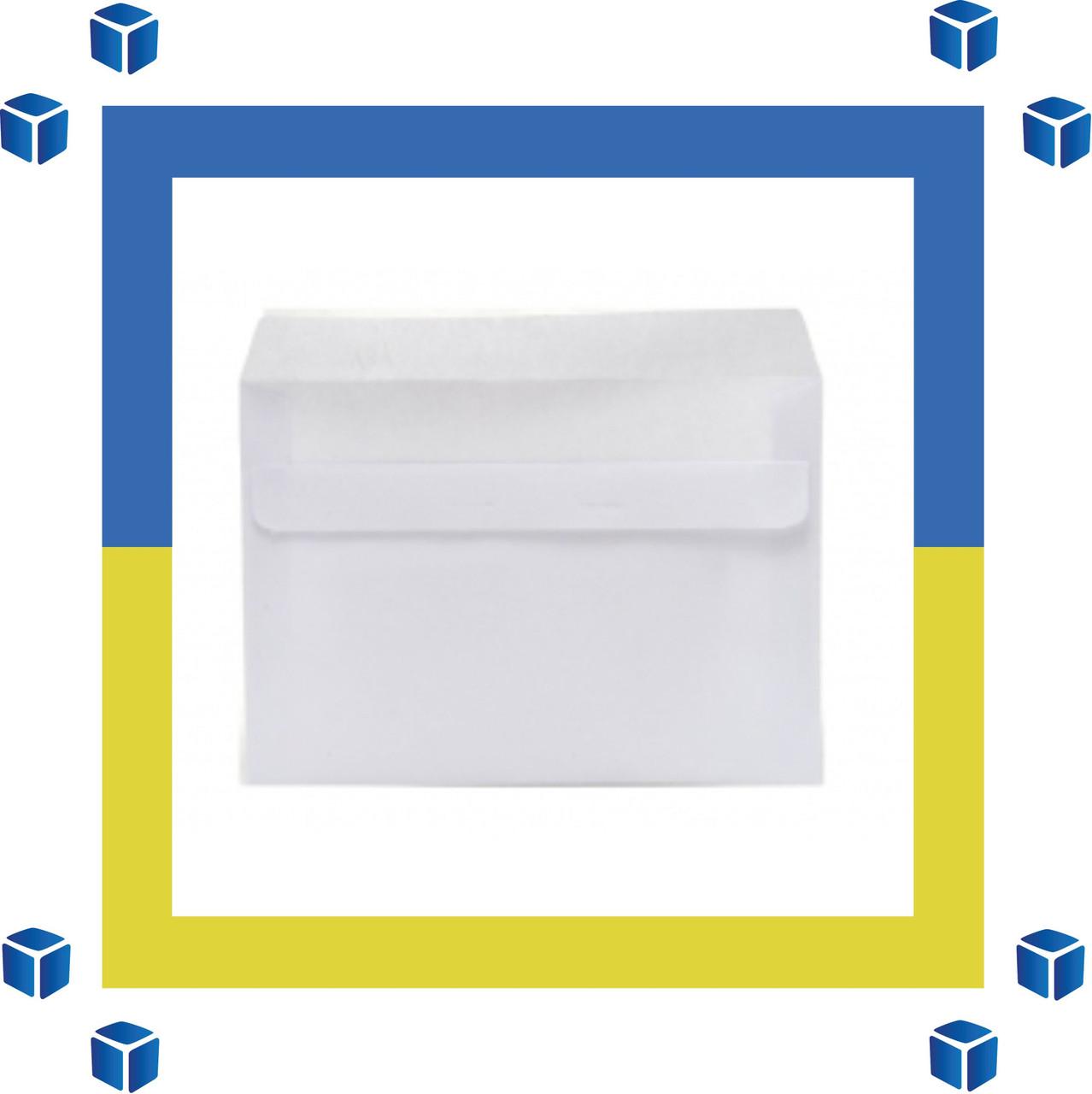 Конверты С6 (114х162) ск, белый (0+0)