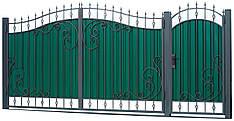 Кованые ворота и калитка  ВД-08 , фото 2