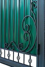 Кованые ворота и калитка  ВД-08 , фото 3