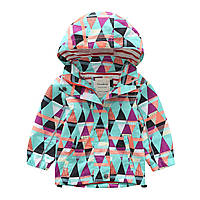 Детская куртка Треугольники Meanbear