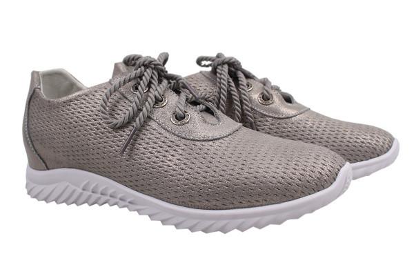 Туфли комфорт Li Fexpert натуральный сатин, цвет серый