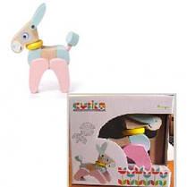 Акробат LA-5 Ослик (CUBиKA) игрушка с подвижными элементами