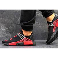watch 2f104 0e723 Мужские кроссовки Adidas NMD x Pharrell Human Race черные с красным р.42  Акция -