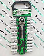 """Набор головок """"Intertool 1/2"""" ET-6019"""" (19 единиц).Ключ 1/2"""",головки 8-32 мм."""