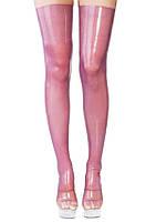 Прозрачные чулки из латекса Latex Stockings