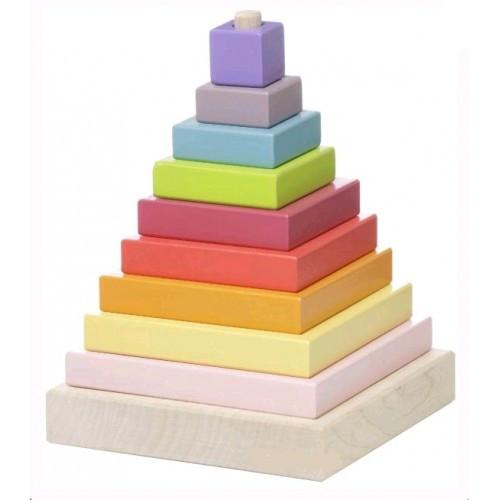 Пирамидка LD-510 дет. 11 * 13 5 * 11см (CUBиKA)