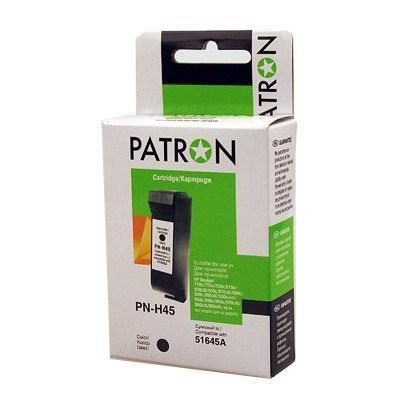 Картридж PATRON для HP PN-H45 BLACK (51645A) (PN-H45)