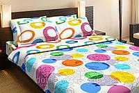 Постельное белье Top Dreams Цветочное Конфети двуспального размера