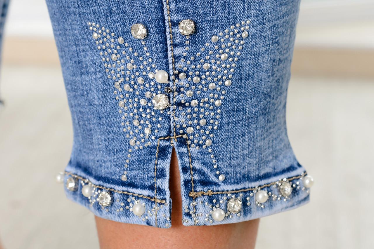 701490b7e3a Очень красивые женские джинсы батал  продажа