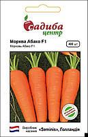 Ранний гибрид моркови Абако F1, Seminis Семена почтой в пакетах Мелкая фасовка 400 семян (Садыба Центр)
