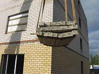 Монтаж бетонных перемычек