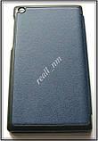 Синий чехол книжка для Lenovo Tab 2 A7-30 с магнитами в эко коже PU, фото 8