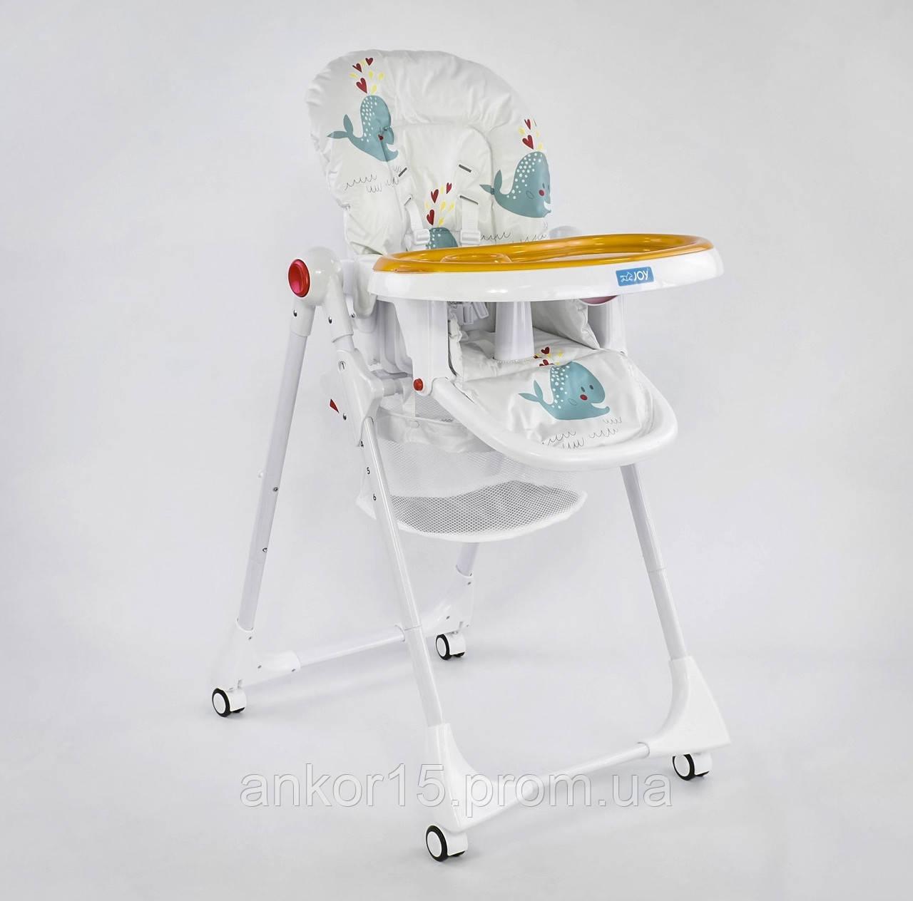 """Детский стульчик для кормления JOY К-89520 """"Рыбки"""""""