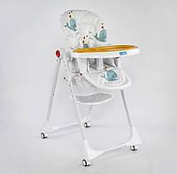 """Детский стульчик для кормления JOY К-89520 """"Рыбки"""", фото 1"""