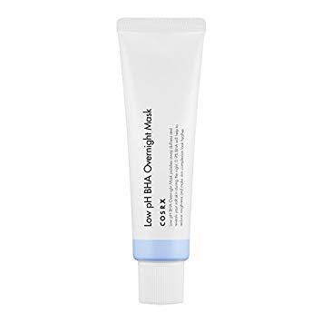 Ночная маска-пилинг с BHA-кислотами COSRX Low pH BHA Overnight Mask,50 мл