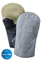 Рукавицы ХБ с брезентовым наладонником джинсовая ткань 2-й наладонник