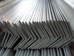 Уголок алюминевый разносторонний 50х25х4 мм 6м АД31Т5 с покрытием и без покрытия