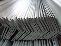 Уголок алюминевый разносторонний 20х6х1,5 мм 6м АД31Т5 с покрытием и без покрытия