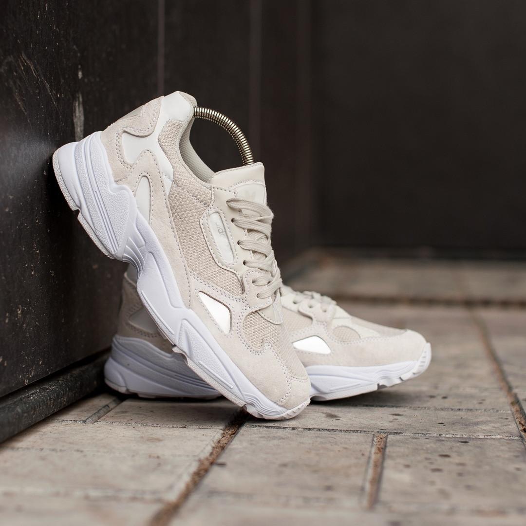Жіночі кросівки Adidas Falcon, Репліка ААА