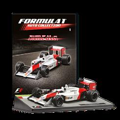 Модель коллекционная Formula 1 (Формула 1) Auto Collection (1:43) Centauria №01 McLaren MP4/4