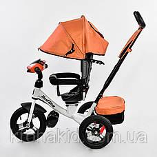 Велосипед 7700 В - 6090 Best Trike (1) ПУЛЬТ ВКЛЮЧЕНИЯ СВЕТА И ЗВУКА, ПОВОРОТНОЕ СИДЕНЬЕ, НАДУВНЫЕ КОЛЕСА , фото 2