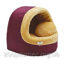 Будка домик для собак и кошек №3 Хутро, 52*44*44 см