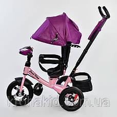 Велосипед 7700 В - 7599 Best Trike (1) ПУЛЬТ ВКЛЮЧЕНИЯ СВЕТА И ЗВУКА, ПОВОРОТНОЕ СИДЕНЬЕ, НАДУВНЫЕ КОЛЕСА , фото 3