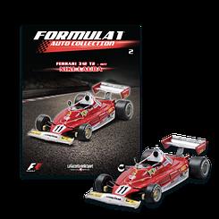 Модель коллекционная Formula 1 (Формула 1) Auto Collection (1:43) Centauria №02 Ferrari 312 T2 1977