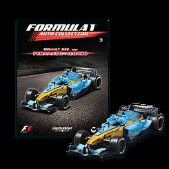 Модель коллекционная Formula 1 (Формула 1) Auto Collection (1:43) Centauria №03 Renault R25 2005