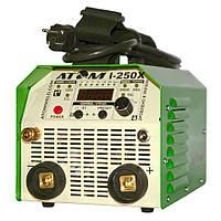 Сварочный аргонодуговой инвертор Атом I-250X ( с комплектом кабелей КГ-16 2+3 м и зажимами Binzel )
