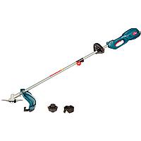 Коса электрическая Зенит ЗТС-1700 садовый триммер для травы газона 1700 Вт (гибкий вал, D-ручка) (нож + леска)