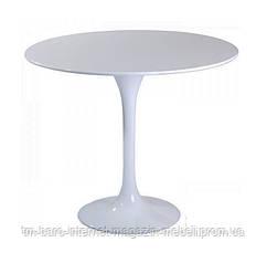 Стол Тюльпан d80, белый