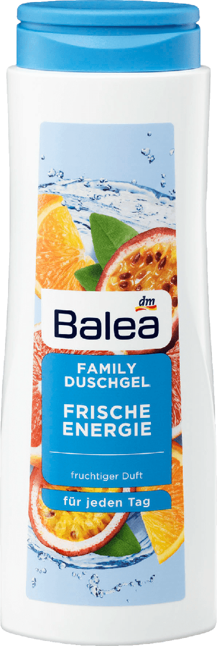 Гель для душа Balea Family Frische Energie, 500 ml.