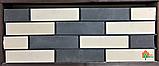 Кирпич гиперпрессованный ECOBRICK фактура: скала, гладкий, мраморный, луч, фото 3