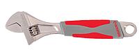 Ключ разводной 300мм, изолированная рукоятка, никелевое покрытие INTERTOOL XT-0030
