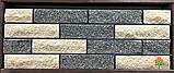 Кирпич гиперпрессованный ECOBRICK фактура: скала, гладкий, мраморный, луч, фото 7