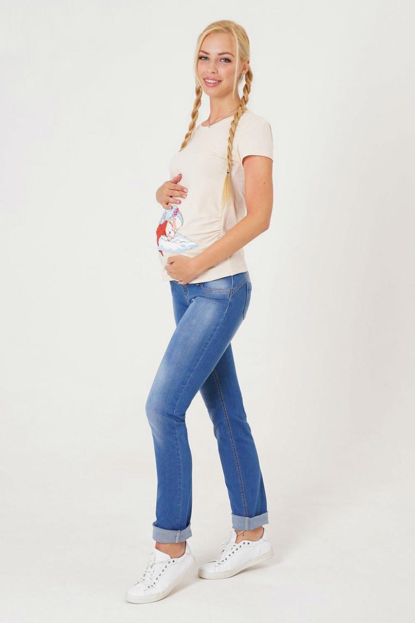 Классические джинсы-скинни для беременных