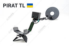 Металлоискатель Пират ТЛ, металошукач поиск до 2 метров + складная саперная лопата, фото 2