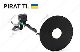 Металлоискатель Пират ТЛ, металошукач поиск до 1,5 метров + складная саперная лопата, фото 3
